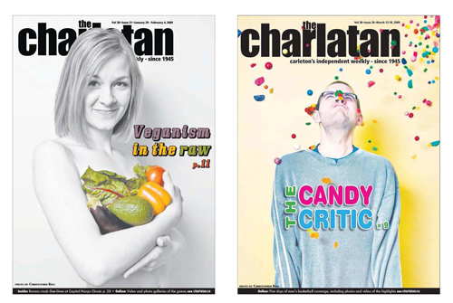 Layout/Pagination: The Charlatan Publication Redesign