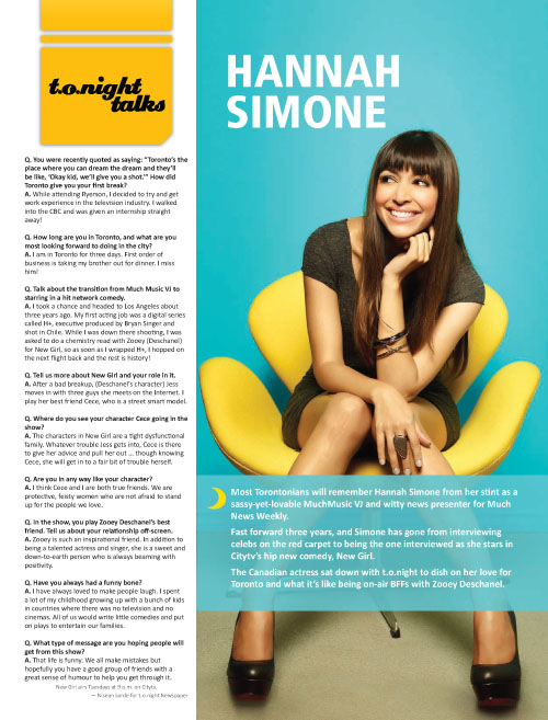 Layout/Pagination: t.o.night Talks – Hannah Simone
