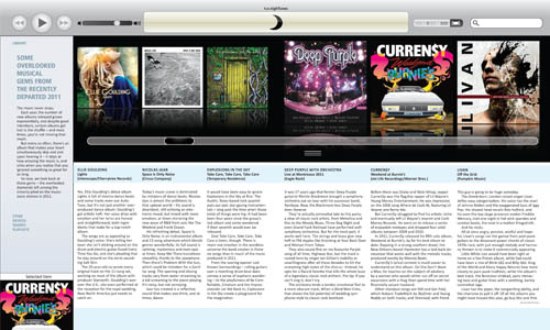 Digital Design: t.o.night Newspaper – t.o.nighTunes Feature (Top Overlooked Albums of 2011)